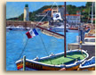 Cassis Lighthouse and Boats