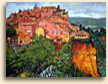 Paining of Roussillon, Provence