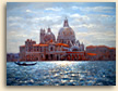 Painting of Sparkling Light, Santa maria della Salute