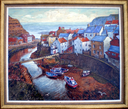 Staithes Beck from Cowbar