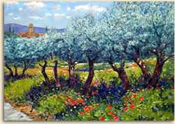 Paintings of Provence
