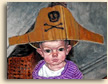 Portrait Painting of Emily in  Pirate Hat
